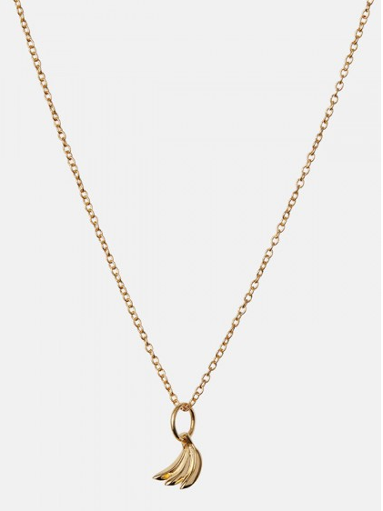 Banana necklace gold - Maanesten