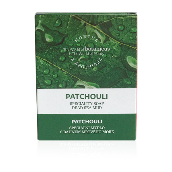 Patchouli Specialty Soap Dead Sea Mud