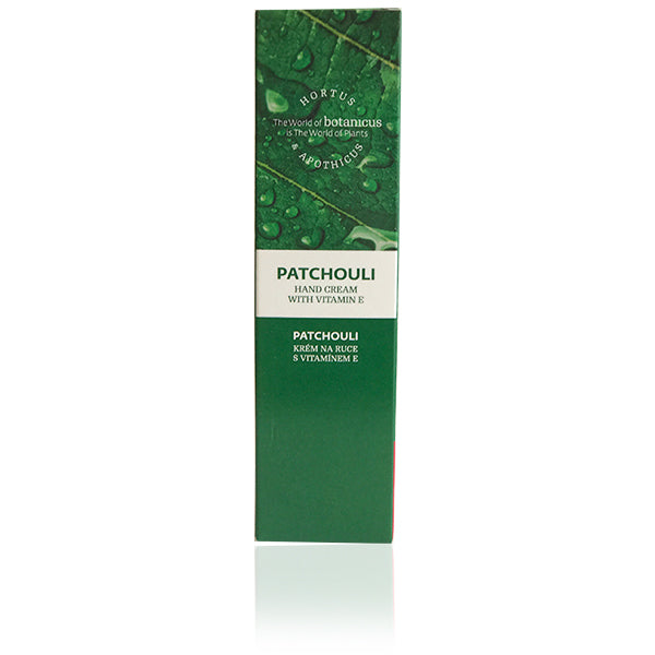 Patchouli Hand Cream with Vitamin E