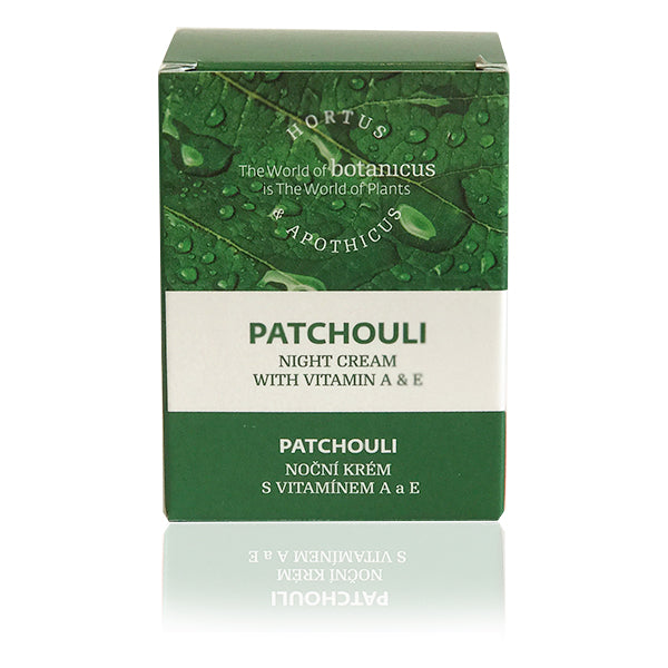 Patchouli Night Creme With Vitamin A & E