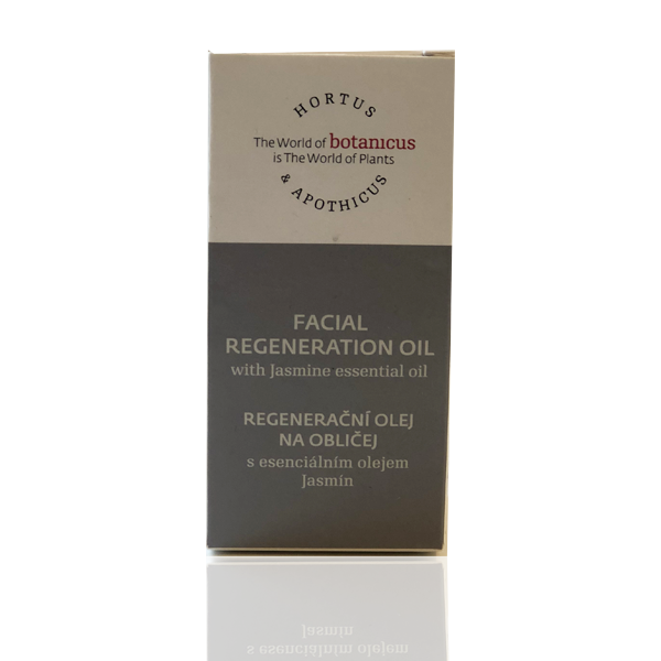 Facial Regeneration Oil w. Jasmine Essential Oil