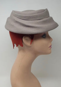 True vintage grey hat