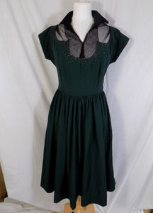 1940's True Vintage Dance Dress
