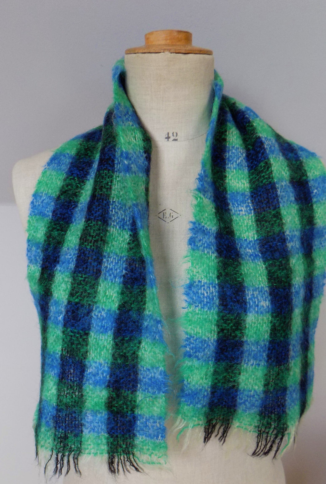 Vintage Mohair Scarf