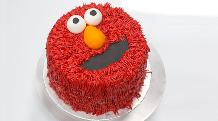 Incredible Blog Tagged Elmo Cake Flavourtown Bakery Personalised Birthday Cards Paralily Jamesorg