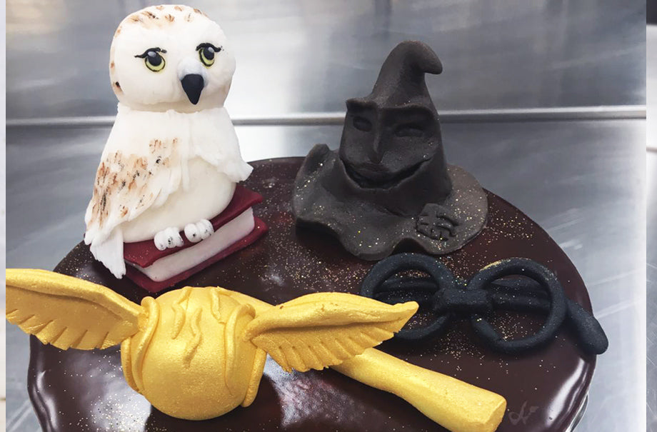 Awesome Harry Potter Bespoke Theme Birthday Cake Design Complete With Funny Birthday Cards Online Elaedamsfinfo