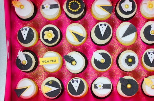 Great Gatsby Bespoke Mini Cupcakes