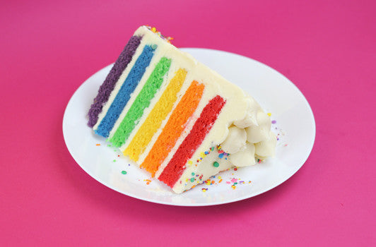 The Flavourtown Rainbow Cake