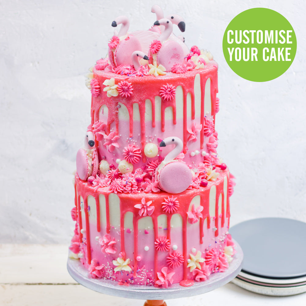 Incredible Large Deluxe Double Tiered Cake Flavourtown Bakery Funny Birthday Cards Online Sheoxdamsfinfo