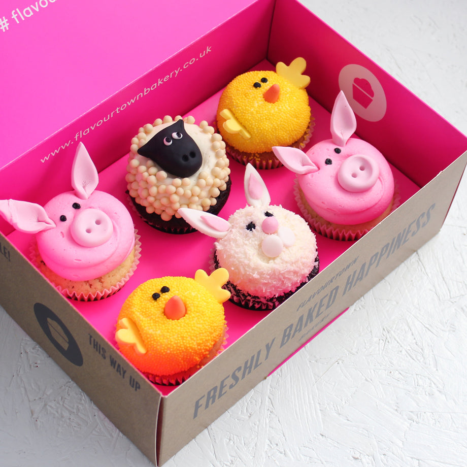 Easter friends cupcake