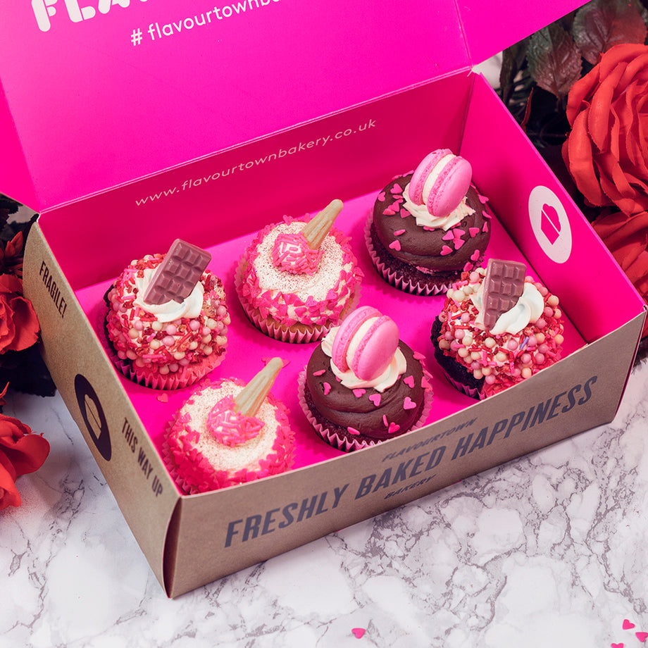 Deluxe Valentines Day Cupcakes