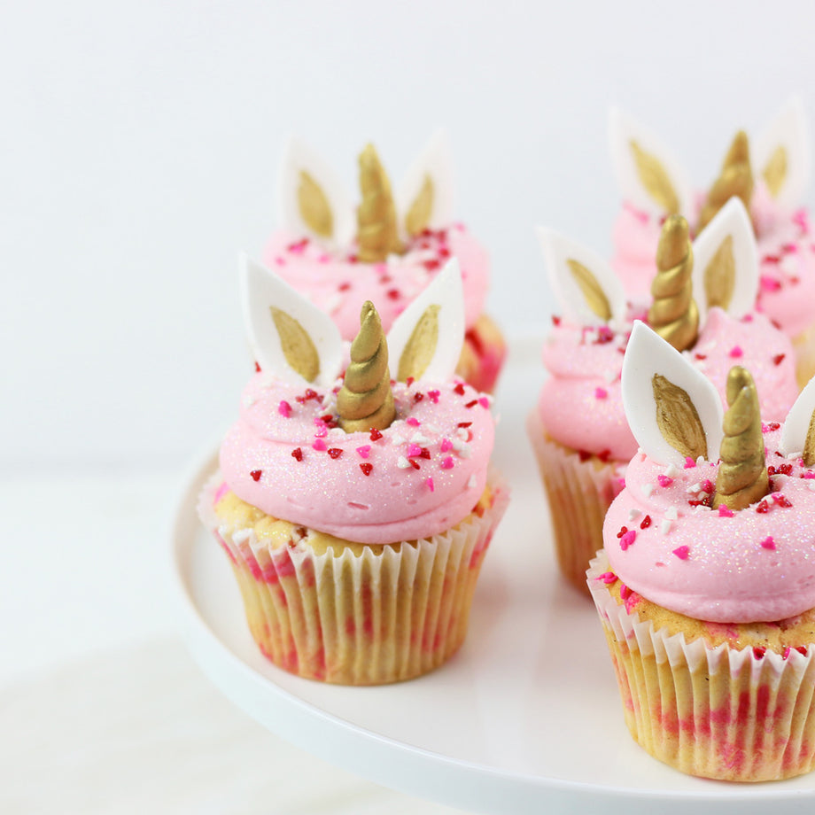 Unicorn Love Cupcake