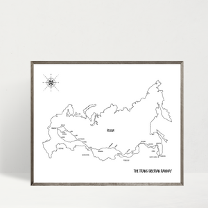 travel map-custom map-personalized map