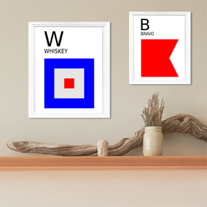 Maritime Signal Flags-Maritime Letters-Sailing Flags