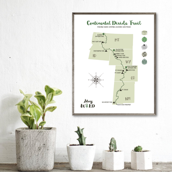 continental divide trail-hiking gift ideas