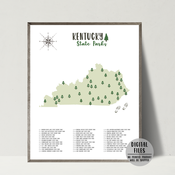 kentucky state parks map
