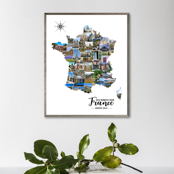 travel photo collage-custom collage-travel gift ideas