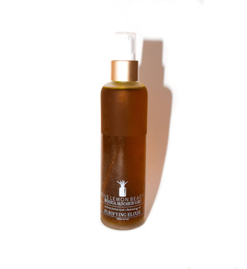 Purifying Elixir Botanical Cleansing Oil - Blue Lemon Beauty