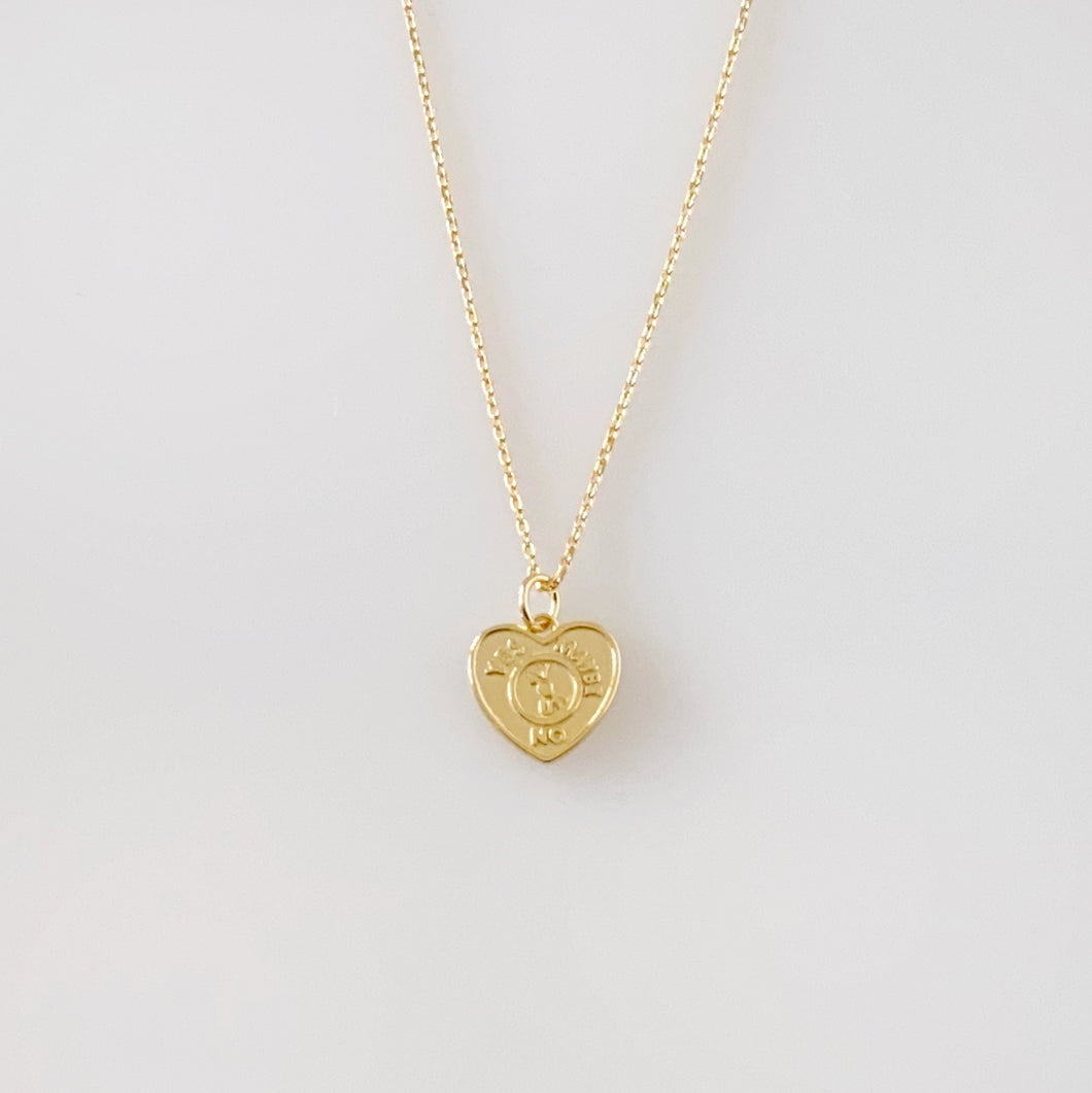 CHANCY NECKLACE - GOLD