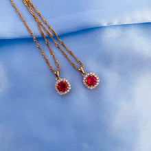 Load image into Gallery viewer, DAINTY ROSA NECKLACE
