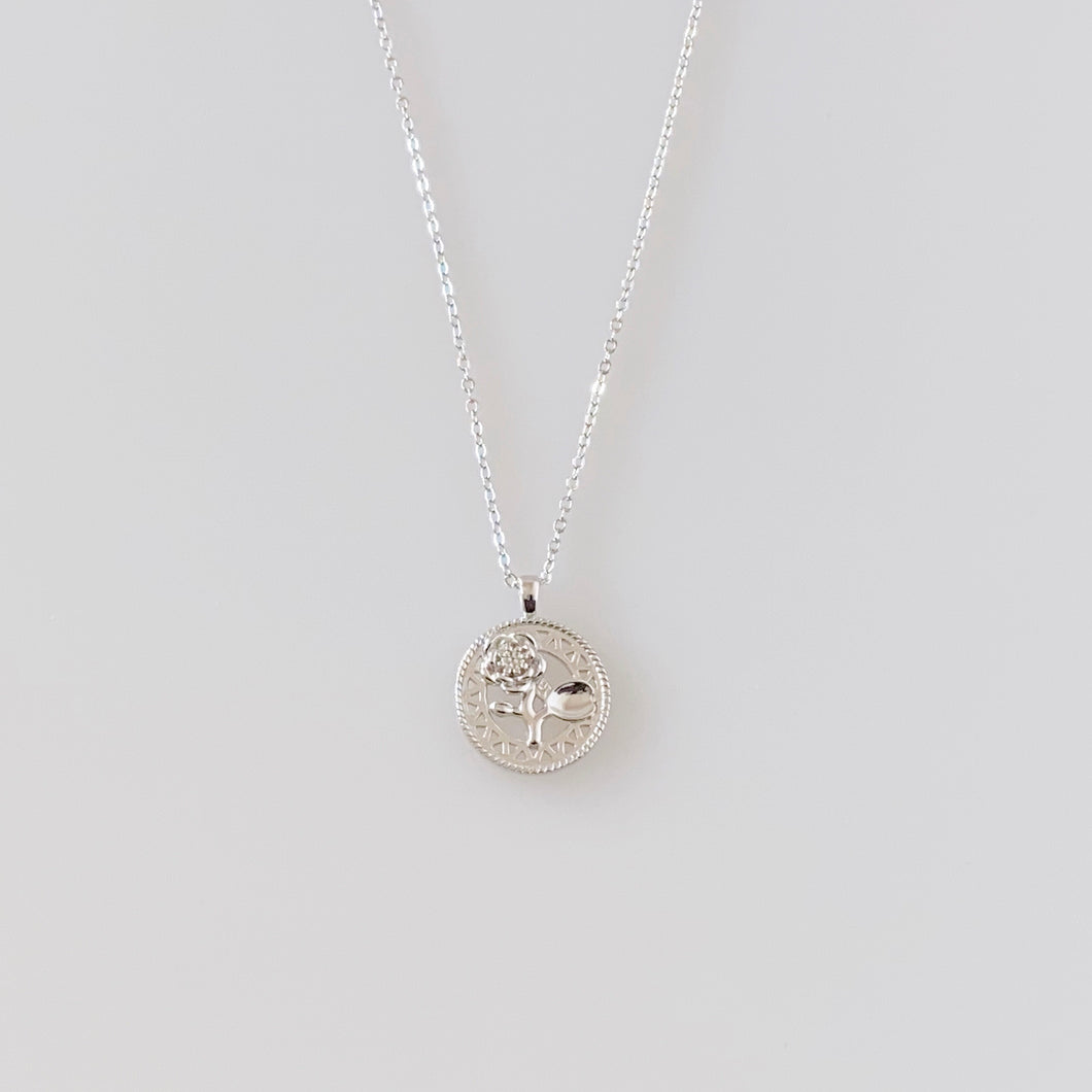 BELLE NECKLACE - SILVER