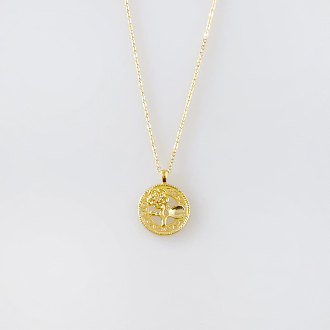 BELLE NECKLACE - GOLD