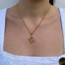 Load image into Gallery viewer, GOLD BUTTERFLY NECKLACE