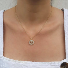 Load image into Gallery viewer, FROSTED CUSTOM INITIAL NECKLACE