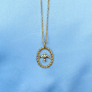 SWALLOW GOLD NECKLACE