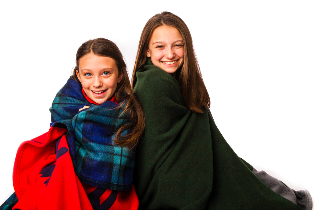 Personalized Camp Blankets