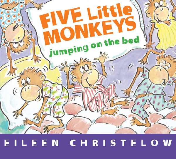 """Five Little Monkeys Jumping on the Bed"" Board Book"