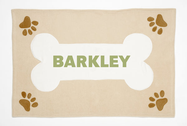 Personalized Doggie Deluxe Blanket