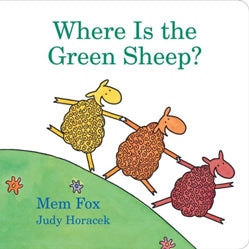 """Where Is the Green Sheep?"" Board Book"