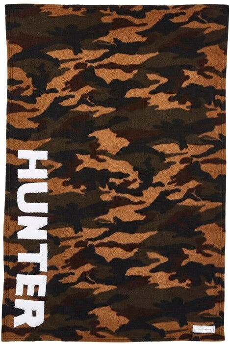 Personalized Straight Up Baby Blanket- Camo