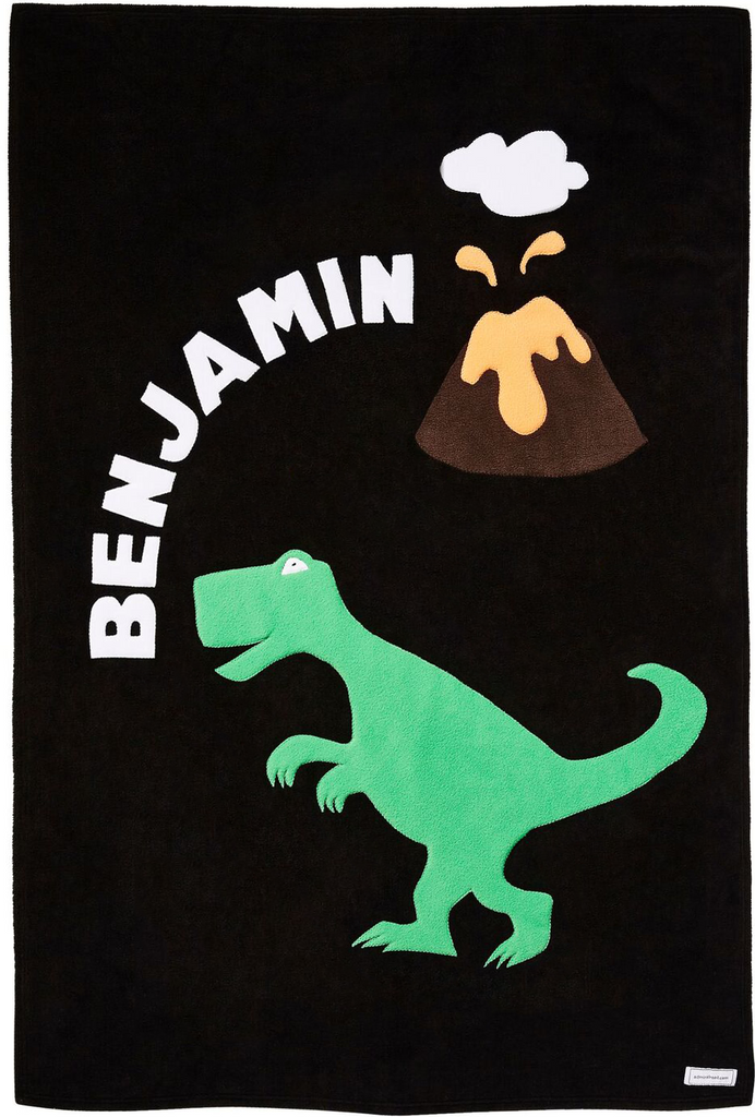 Personalized T-Rex Kids Blanket