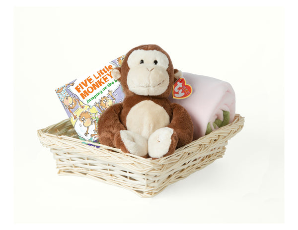 Monkey Gift Set for Girls