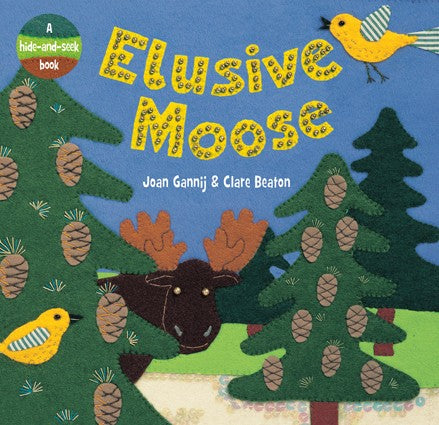 Elusive Moose Board Book