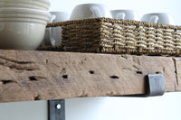 Reclaimed Barn Wood Chunky Deep Shelves