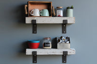 Reclaimed Barn Wood Chunky Shelves
