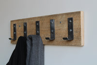 Barn Wood Coat Rack