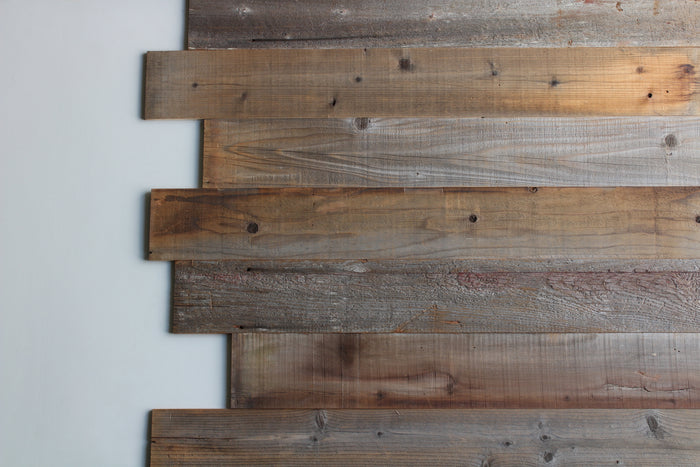 California Redwood Reclaimed Wood Wall Planks