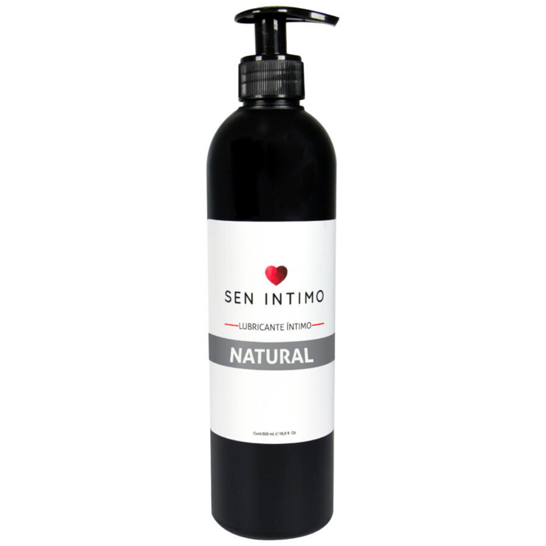 Lubricante Natural Base Agua 500 ml