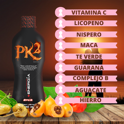 Potenciador PK2 Energy 500 ml