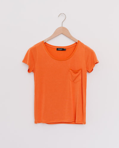 SL Columbine Tee in burnt orange - Broke + Schön Shop