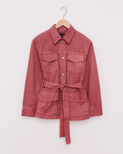 SLAisley Jacket in marsala - Broke + Schön Shop