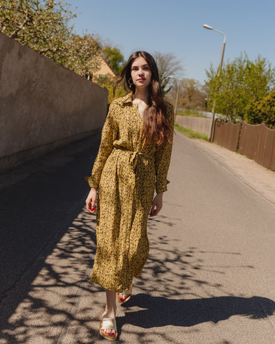 SLHalima Dress in rattan - Broke + Schön Shop