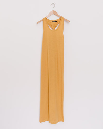 SL Linena Dress in amber gold - Broke + Schön Shop