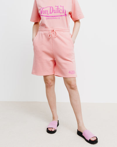 Oversized Sweat-Shorts - Broke + Schön#farbe_light-peach