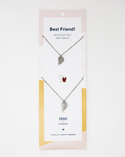 BEST FRIEND Broken Heart Necklace - Broke + Schön