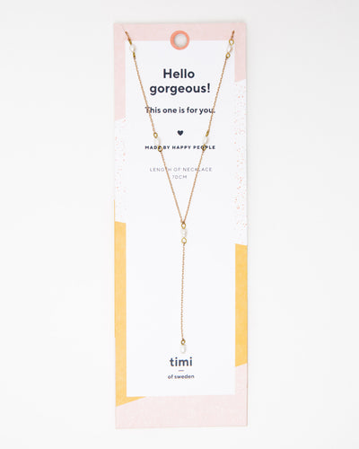 Pearls Lariat Necklace - Broke + Schön